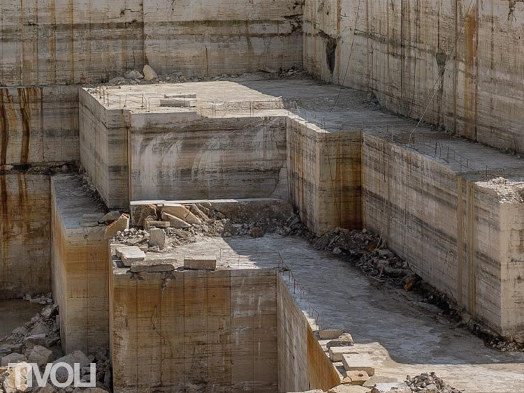 Tivoli Travertine Quarry